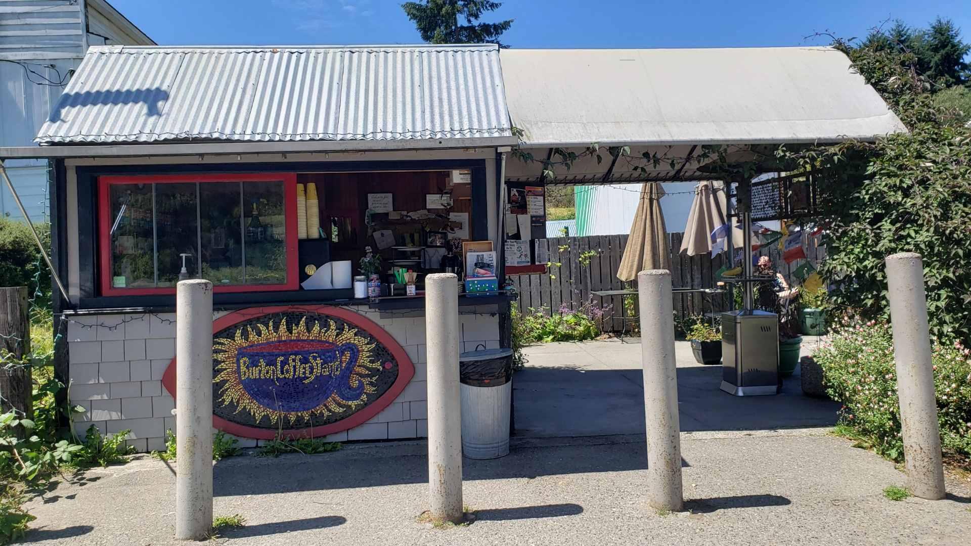 Burton Coffee Stand - Vashon Island Washington